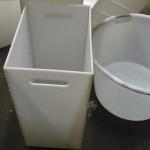 pojemniki plastikowe z PE